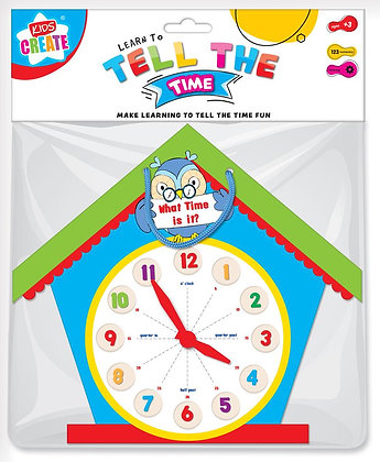 Tell The Time Clock - Make Telling The Time Fun