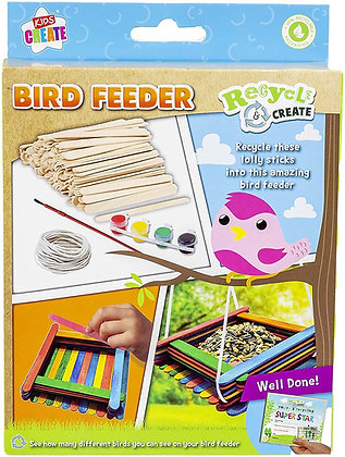 Recycle And Create Bird Feeder Craft Set