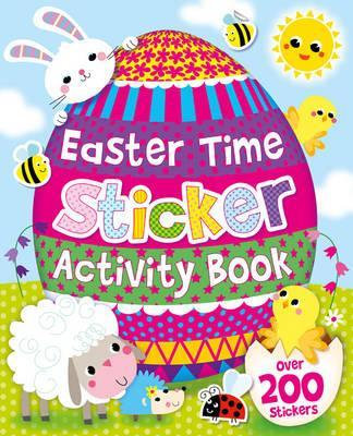 Easter Time Sticker Activity Book