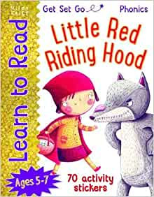 Little Red Riding Hood (Learn To Read Get Set Go) Ages 5-7 (70 activity sticker