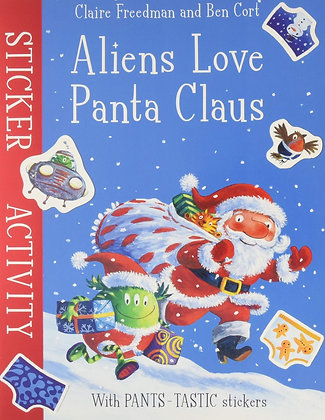 Aliens Love Panta Clause (Sticker Activity Book)