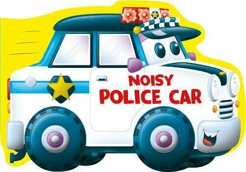 Noisy Police Car (Board Book)