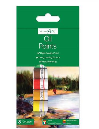 Oil Paints (8 Colours)