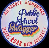 Public School Swagger Retro - Vector Art - Magnets.png
