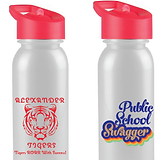 ALexander Tiger - Bottle - White with Red Text & Red Lid (retro Logo).png