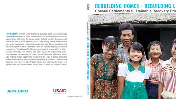 Photobook: Rebuilding Homes- Rebuilding Lives