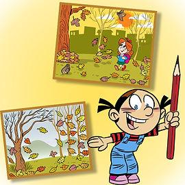 Конкурс осенних рисунков «Золотая осень» для детей, школьников, дошкольников