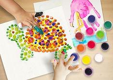 «Рисуем ладошками и пальчиками»