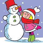 «Мой весёлый снеговик»