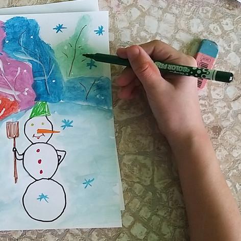 """""""Краски зимы"""""""