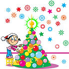 «Яркая ёлка» детский конкурс новогодних ёлок и ёлочных игрушек