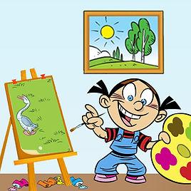 Экспресс конкурс рисунков для детей и взрослых «Палитра ярких красок»
