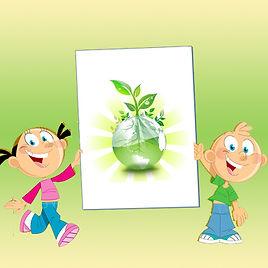 Детский экологический конкурс к дню земли «Экология в рисунках детей»