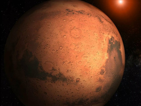 Мой первый день на Марсе - работа участницы конкурса «Космос - просторы Вселенной»