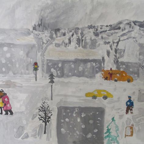"""""""Зима в городе"""""""