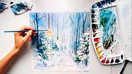 «Рисуем зиму»