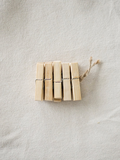 Bamboo Clips (10pcs)