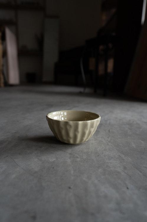 Beige Ceramic Bowl 110024
