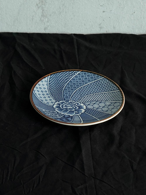 Blue Printed Ceramic Plate