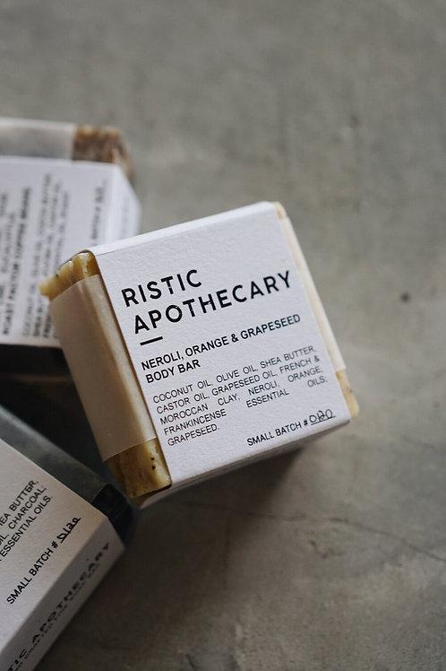 Ristic Apothecary Neroli Orange Grape Seed Soap Bar