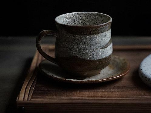 Kairagi Cup & Saucer Set 茶かいらぎマグ