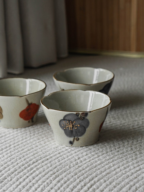 Ceramic Rice Bowl Set ( Set of 3)