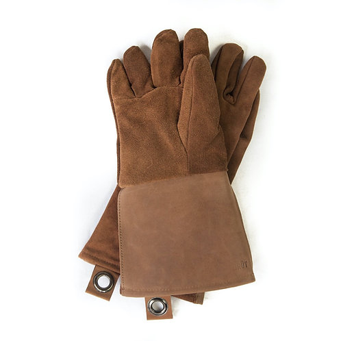Suede & Leather Oven Glove