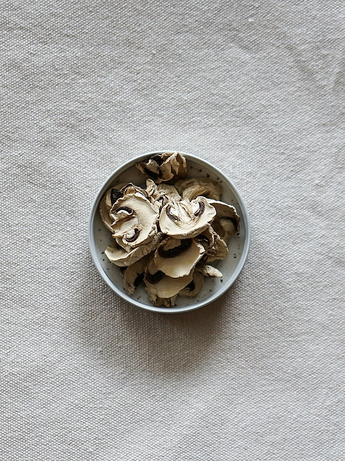 Organic Dried White Button Mushroom