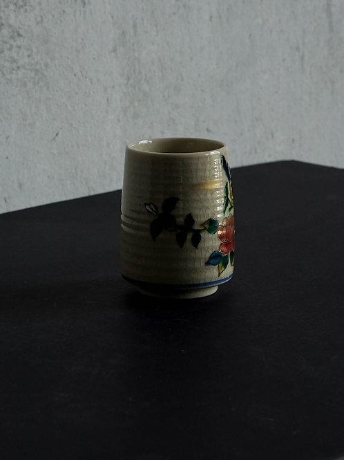 Vintage Floral Printed Tea Cup