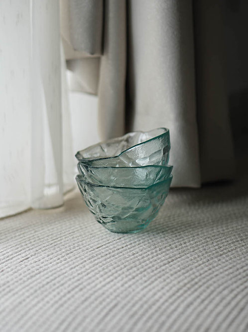 Glass Bowl Set (Set of 3)