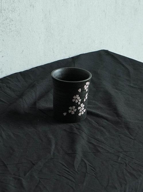 Floral Print Tea Cup