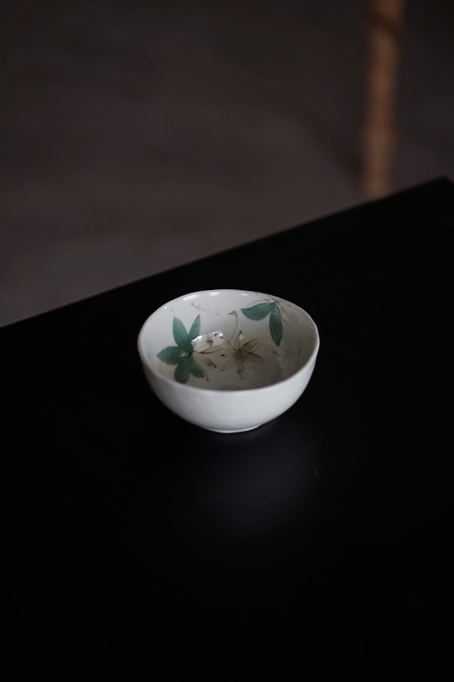 Tachikichi Green Porcelain Bowl