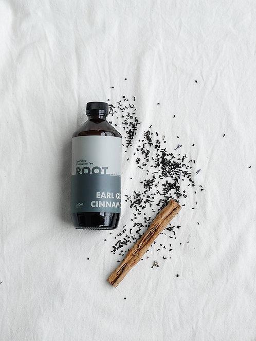Earl Grey Cinnamon Kombucha