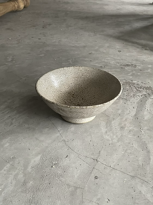 Grey Minoyaki Glazed Bowl