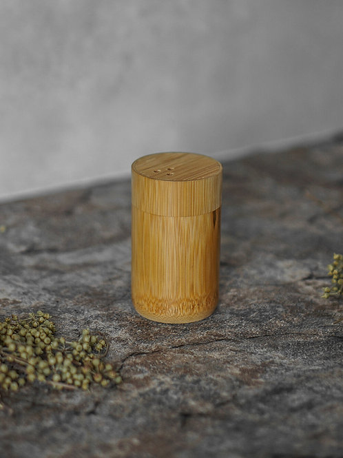 Bamboo toothpick holder