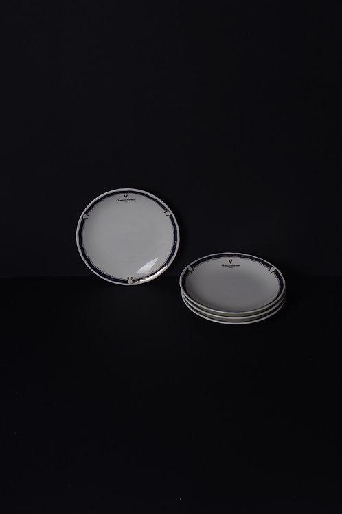 Vintage Valentino Plate Set ( Set of 4 )