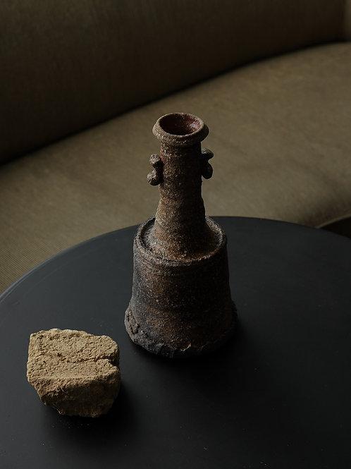 Vintage Bizenyaki Stone Vase
