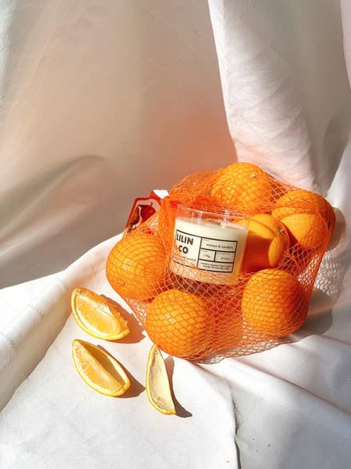 Mimosa & Mandarin Scented Candle