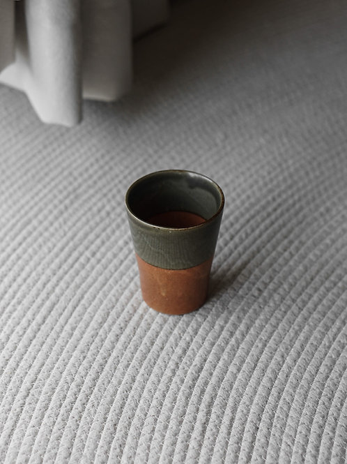 Two Tones Ceramic Cup