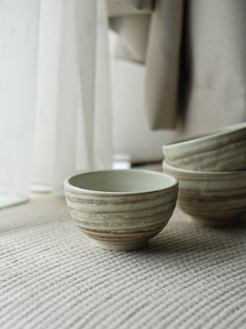 Marble Pattern Ceramic Bowl Set (Set of 3)