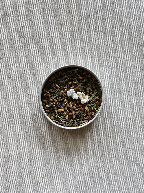Geisha Genmaicha loose tea leaves