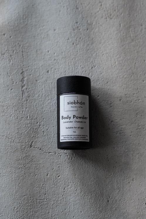 All Purpose TALC-FREE Body Powder –Lavender Chamomile