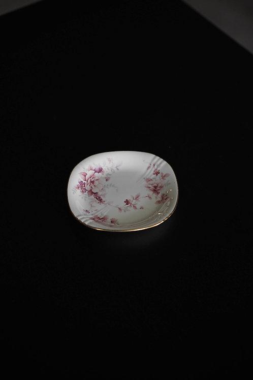 Noritake Bone China Pink Floral Plate