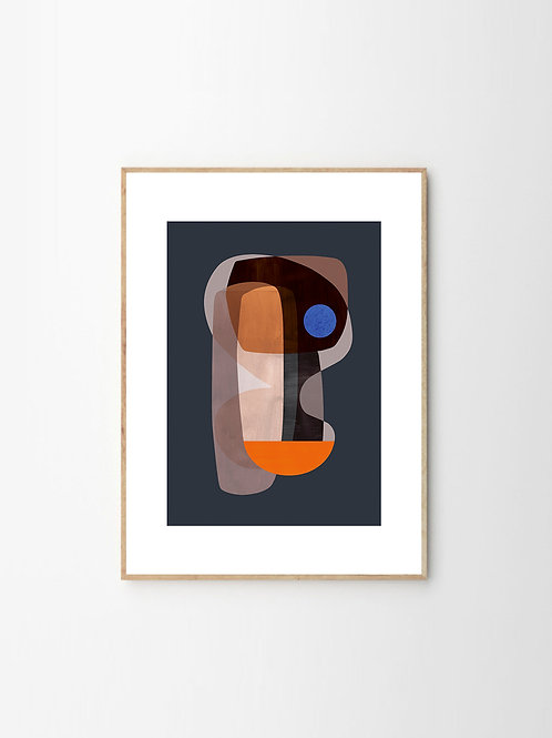 """""""Abstract Cubism"""" by Atelier CPH (50cm x70cm)"""