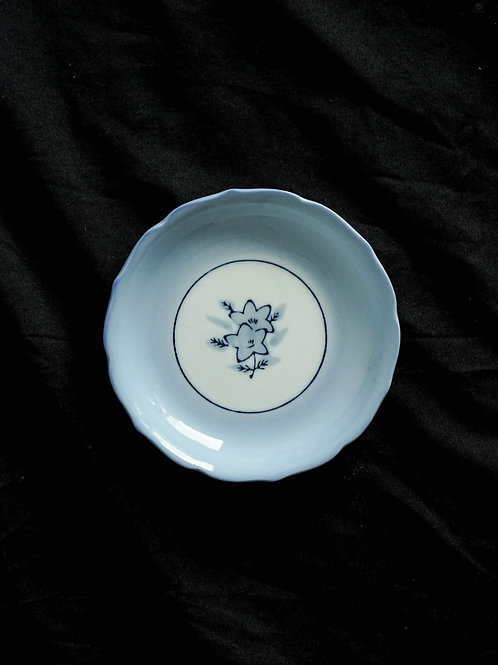 Blue Hand Painted Plate