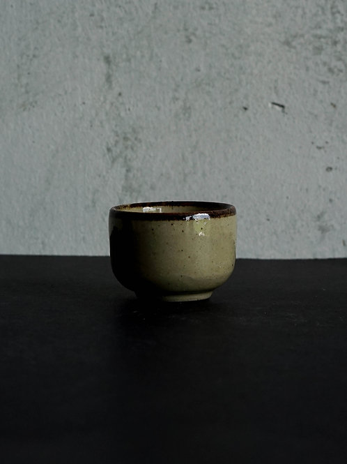 Vintage Shiragaki Sake Cup