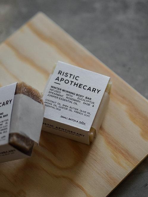 Ristic Apothecary Winter Morning Body Bar