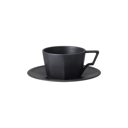 OCT Ceramic Coffee Cup and Saucer (300ml)
