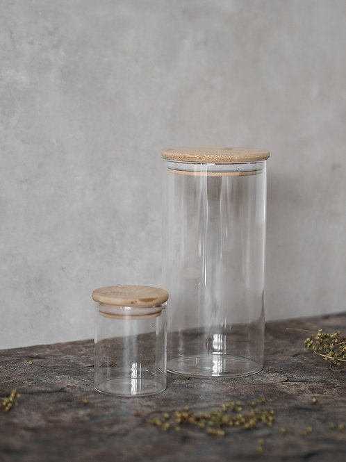 Bamboo lid Container L