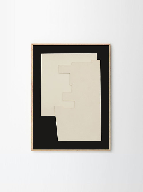 """RELIEF"" by BERIT MOGENSEN LOPEZ (50cm x 70cm)"